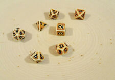 Easy Roller Dice Co.: Mud Dice Collection - 7 Piece Set
