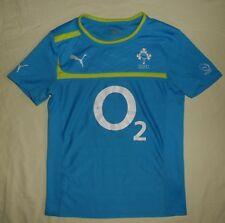 Ireland (IRFU) / 2013 Training - PUMA - MENS rugby Shirt / Jersey. Size: S (XS?)