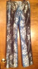 Alexander McQueen Silk Pants . Size 42/ US 6. Made In Italy.