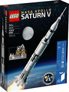 LEGO® Ideas 92176 LEGO® NASA Apollo Saturn V EXKLUSIV & NEU & OVP + Geschenk!