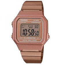 Reloj Unisex CASIO B650WC-5ADF VINTAGE Clásico Acero Inoxidable Gold Rose