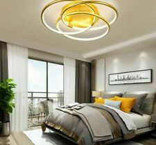 Modern Chandeliers LED Lighting Round Ring Lustre Gold Light Indoor Home Fixture