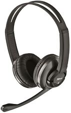 TRUST HS-2800 STYLISH COMFORTABLE HEADSET & MICROPHONE