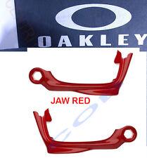 Coppia Jaws Mascelle Oakley 9171 Racing Jacket Polished Black Jaw Mascella