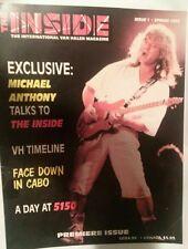 Van Halen The Inside Fan Club Magazine Premiere Issue