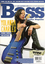 BASS GUITAR MAGAZINE UK 87 February 2013 YOLANDA CHARLES Chuck Rainey Mo Foster