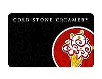 $10 Cold Stone Creamery Gift Card