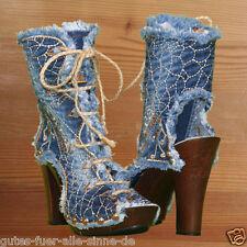 Jeans Stiefel / Designer Schuhe / Ibiza Style /original  DiJea / Dilara / Hippie