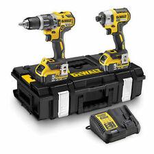 DEWALT DCK266P2T 18V Cordless Combi Drill and Impact Driver with 2 x 5.0Ah Batteries