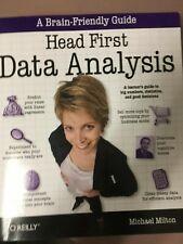 Head First Data Analysis 2009 1st Edition