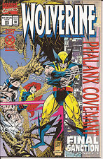 Wolverine #85 Marvel prismatic foil cover X-Men Cable Psylocke Cyclops Hama VF
