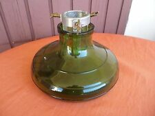 GLASS CHRISTMAS TREE STAND BULACH SWITZERLAND ART DECO 1930 / PIED EN VERRE