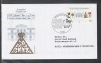 LA 104 ) Germany 2002 - 100 years Freemasonry Museum Bayreuth of beautiful FDC