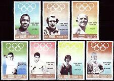 Sharjah 1968 ** Mi.510/16 A Olympische Spiele Olympic Games Gewinner Winners