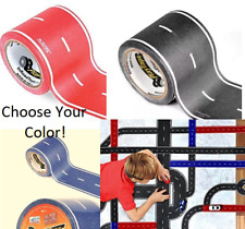 "PlayTape Choose Color Single Roll 30'x2"" - Road Car Tape Great for Kids Sticker"