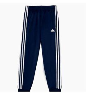 Adidas Youth Sweat Pants Joggers Blue Size M-10/12  New
