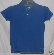 77Kids by AE Polo Pique Shirt 10 M by American Eagle Cotton S/Sleeve Dark Blue