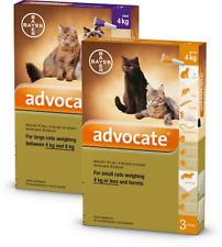ADVOCATE BEST KITTEN CAT TICK FLEA WORMER SPOT ON TREATMENT FREE SHIPPING