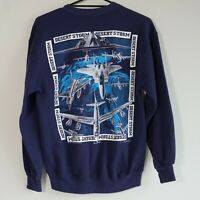 Vintage Operation Desert Storm War Sweatshirt Jumper 1991 Made in USA