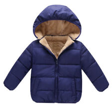 Winter Boy Girl Baby Coat Outerwear Fashion Hooded Jacket warm Clothes