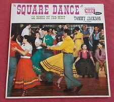 TOMMY JACKSON  LP ORIG FR 60'S SQUARE DANCE  MINT  FAR WEST WESTERN