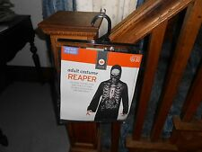 Adult Grim Reaper Halloween Costume New NIB Halloween One Size Fits All