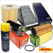 Paquete de inspección (5-tlg) audi a6 4f 2.7 TDI 3.0 TDI | Filterset + clima limpiador
