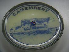 "LUMINARC CAMEMBERT Fabrique En Normandie 8"" Cheese Plate New No Box HTF"