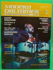Modern Drummer Dec Jan 1979  #14 Danny Seraphine Jethro Tull NO LABEL BRAND NEW!