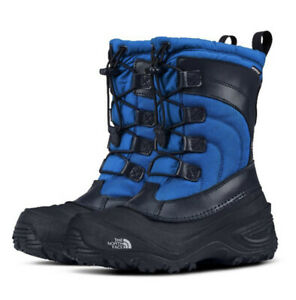 The North Face Alpenglow IV Snow Boot Urban Navy/ Bomber Blue Sz 13 Youth NIB