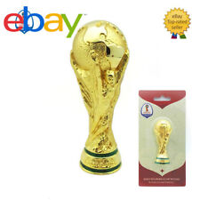 100% Authentic Offical 2018 Russia FIFA World Cup Trophy 3D Table Metal 70mm
