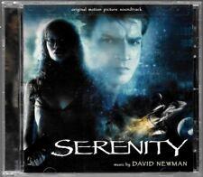 SERENITY - DAVID NEWMAN (B.O.F SOUNDTRACK O.S.T) ALBUM CD COMME NEUF