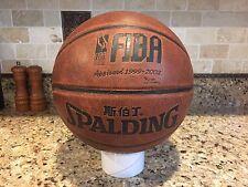 New listing Official Spalding FIBA International NBA IBA Game Ball Leather Basketball