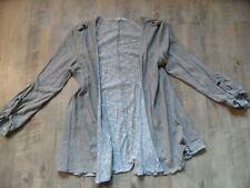 RICH&ROYAL coole offen zu tragende Strickjacke beige Gr. M TOP  KoS817
