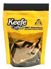 New listing Keefe Coffee 100% Colombian Freeze Dried Coffee 3oz Sealed Bags 10 bags