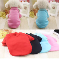 Small Pet Vest Puppy Clothes Dog Cat T Shirt Princess Outfit Apparel Costume
