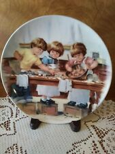 """Jeanne Down's """"The Taste Test"""" 1986 Friends I Remember Collector Plate"""