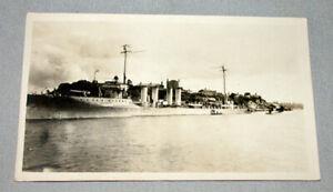 "Original WW1 United State Destroyer "" Sampson ""  Photo Postcard"