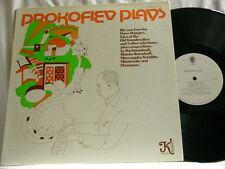 SERGEI PROKOFIEV Plays PROKOFIEV Love for Three Oranges Klavier LP