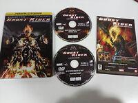 GHOST RIDER EL MOTORISTA FANTASMA - 2 X DVD STEELBOOK ESPAÑOL ENGLISH MARVEL AM