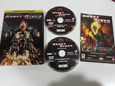 GHOST RIDER EL MOTORISTA FANTASMA - 2 X DVD STEELBOOK ESPAÑOL ENGLISH MARVEL
