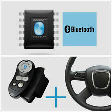 Steering Wheel In-car Bluetooth Handsfree Car Kit Speaker For Dual Mobile Phone
