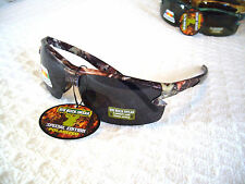 "MEN'S POLARIZED SUNGLASSES CAMO HUNTING FISHING ""BIG BUCK IWEAR""..GLARE BLOCKING"
