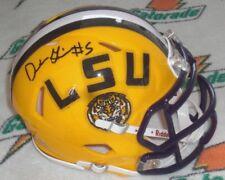 DERRIUS GUICE SIGNED LSU TIGERS RIDDELL SPEED MINI HELMET - Washington Redskins