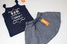Gymboree Parisian Afternoon Girls Size 6 Skirt Bon Voyage Cruise Top Shirt NEW