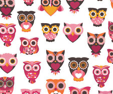 "Premium Microfiber Owl Print Spectacle Glasses Lens Cleaning Cloth 7"" x 6"""