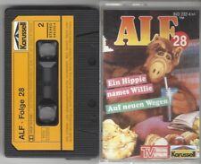 Alf Kassette MC, Folge 28 - Ein Hippie namens Willie / Auf neuen Wegen Fehldruck