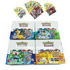 324pcs Pokemon Cards GX TCG Booster Box Englisch EVOLUTIONS Karten Desk Games DE
