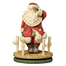 HEART OF CHRISTMAS~SANTA WITH TOY SOLDIERS~SPINNER~JOY~K.HAHN~FIGURINE~4034454