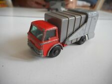 Matchbox Lesney Refuse Truck in Orange/Grey